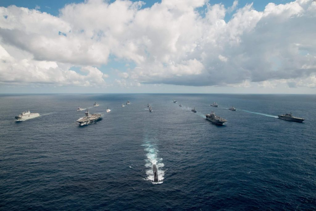 USS Key West Leads the Pack
